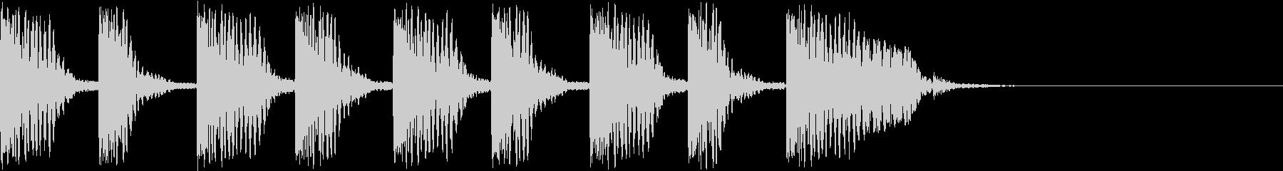 バババババババドスの未再生の波形