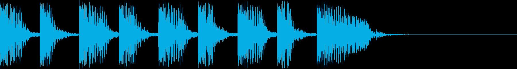 バババババババドスの再生済みの波形