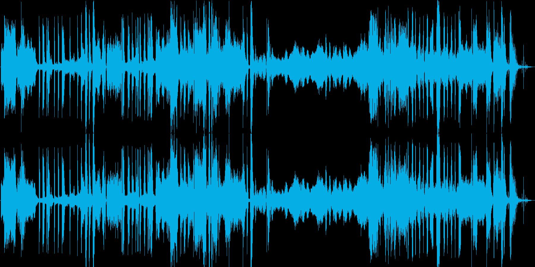 ベートーヴェンの5番目の動き、漫画...の再生済みの波形