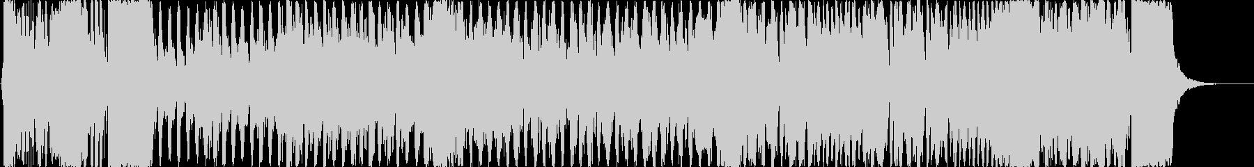ニュースのOP風の勢いあるオーケストラの未再生の波形