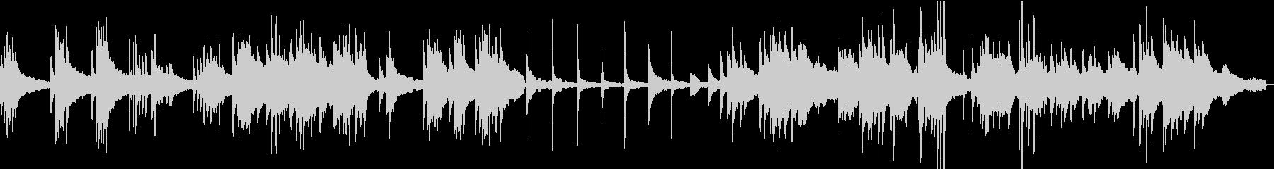 ヒーリングピアノ組曲 ただよう 6の未再生の波形