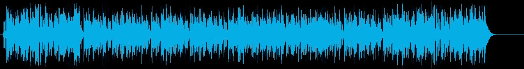 ズッコケ、コミカル、NG集向けの再生済みの波形