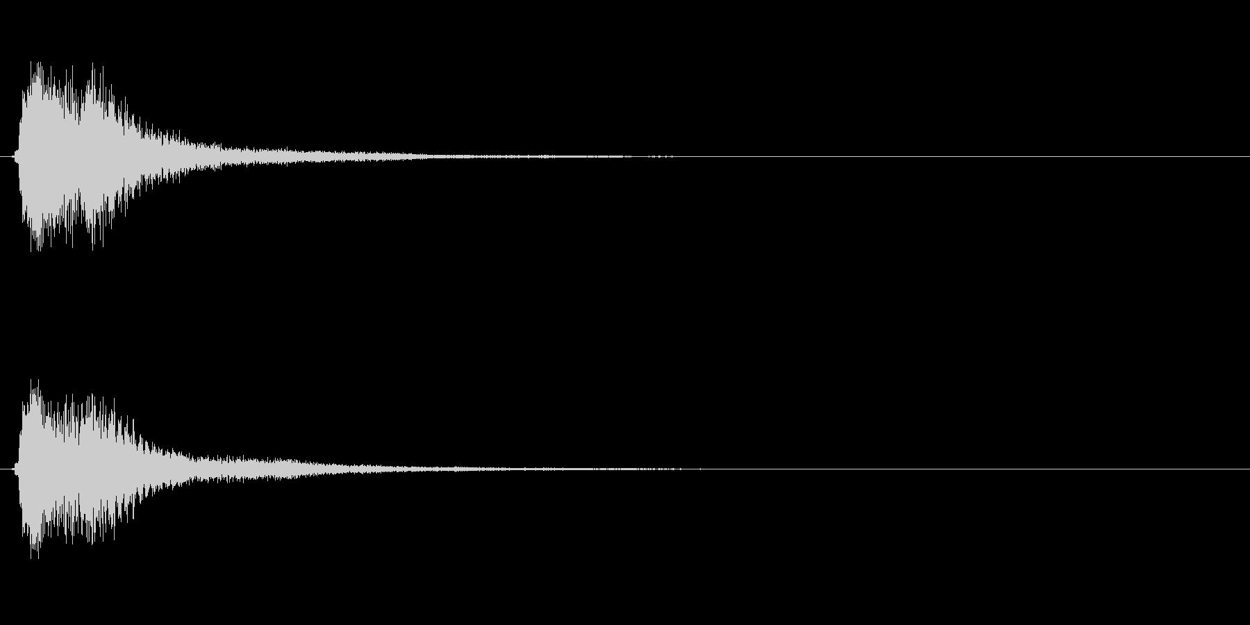 キラキラ系_010の未再生の波形