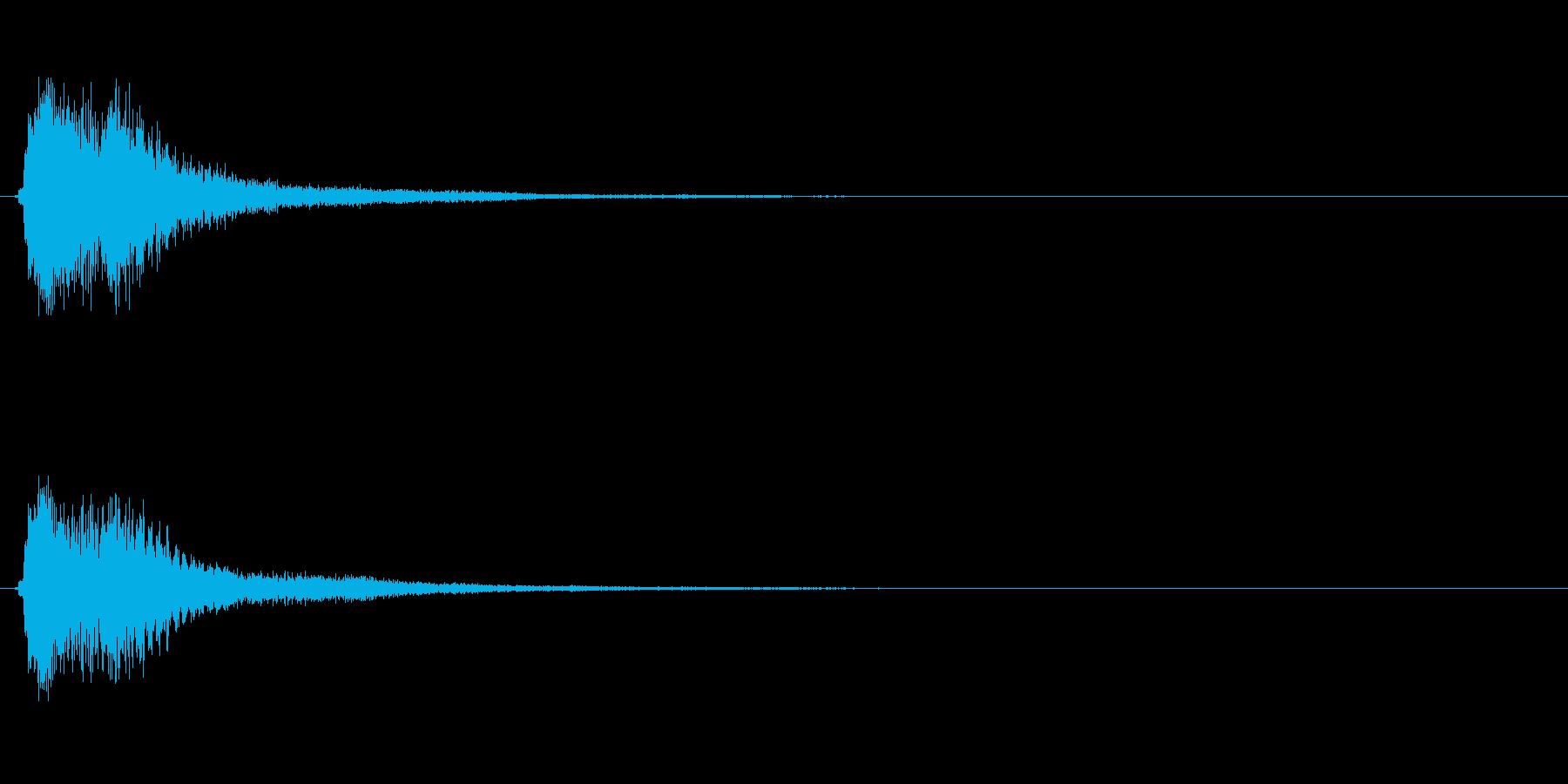 キラキラ系_010の再生済みの波形