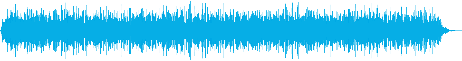 【アンビエント】ドローン_02 実験音の再生済みの波形