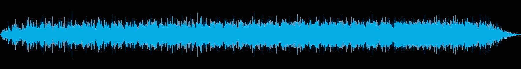 迫りくる夜を感じさせる電子音楽の再生済みの波形