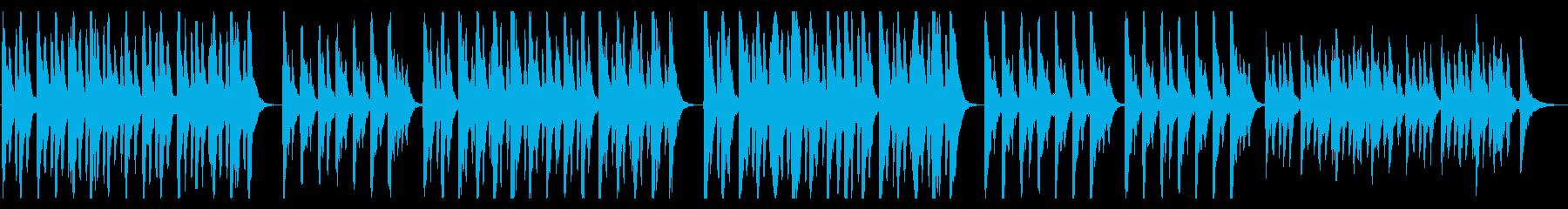 ストリングスとセンチメンタルなリコーダーの再生済みの波形
