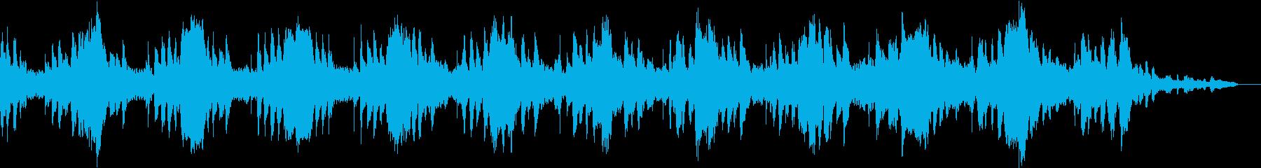 温かいサウンドが心地の良いヒーリング音楽の再生済みの波形