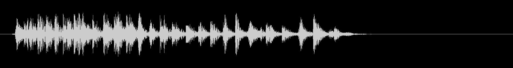 [生録音]ゲップ音02(ミドル)の未再生の波形