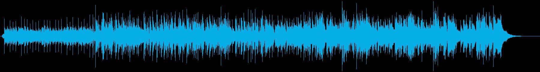CM用9D、元気で楽しく軽快なキッズ向けの再生済みの波形