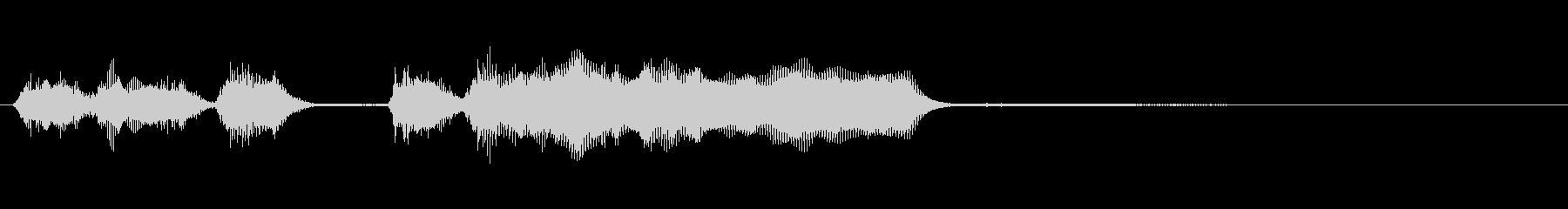 玩具系ファンファーレ-01の未再生の波形