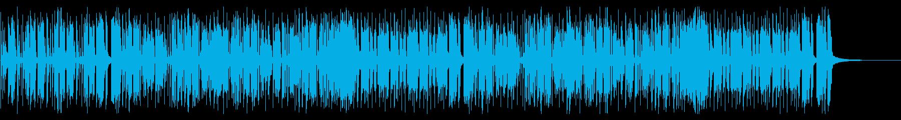 レースゲームや日常で使えるBGMの再生済みの波形