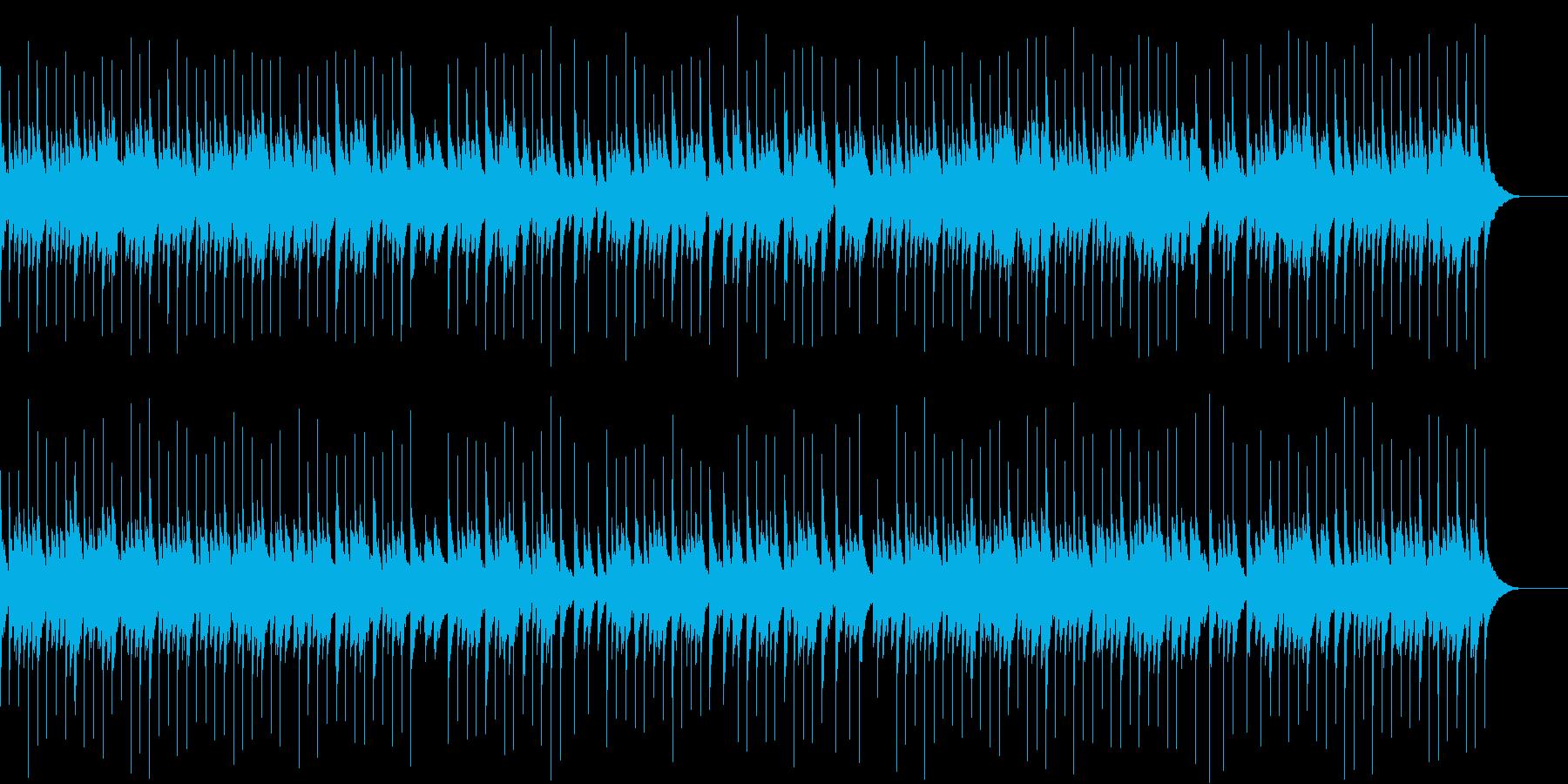 癒しの睡眠オルゴールの再生済みの波形