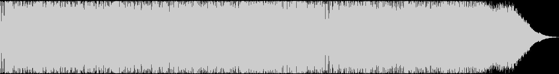 疾走感のある典型的なダークヘビーメタルの未再生の波形