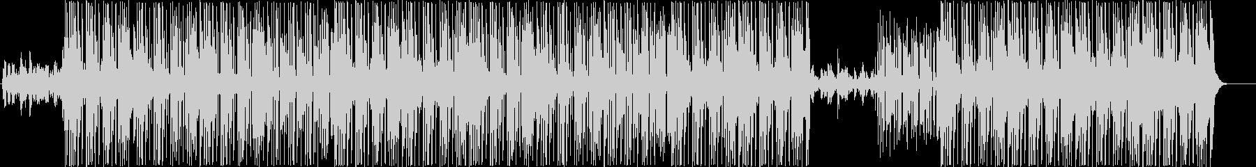 ミッドテンポファンク、ポップトラック♪の未再生の波形