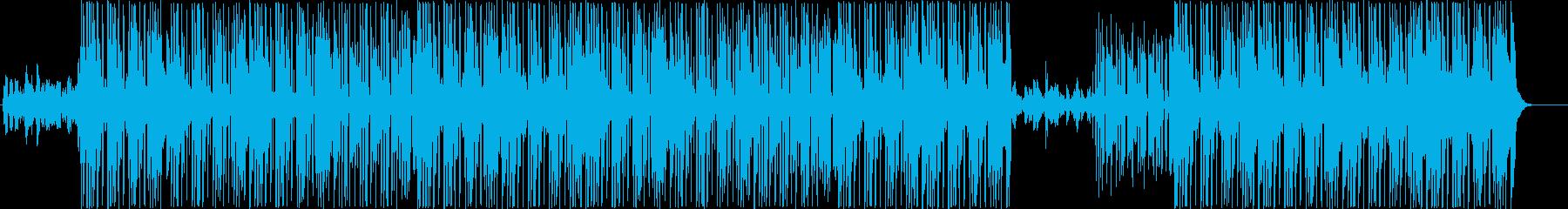 ミッドテンポファンク、ポップトラック♪の再生済みの波形