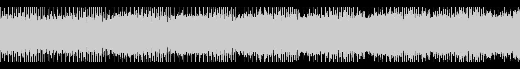 やる気(ループ)の未再生の波形