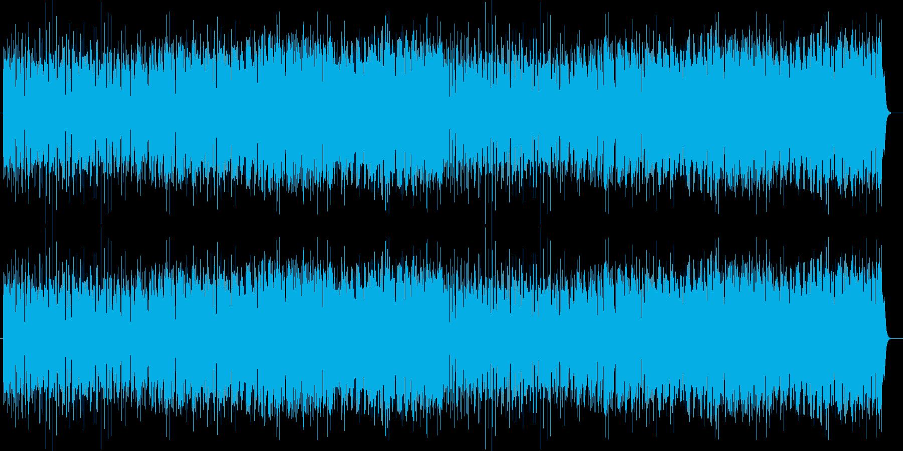 ロックマンっぽく作りました。の再生済みの波形