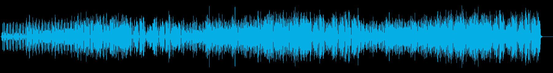 YouTube アコーディオン・軽快の再生済みの波形