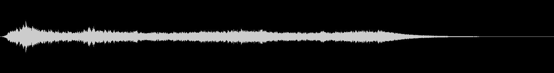 パッド 希望シーケンス01の未再生の波形