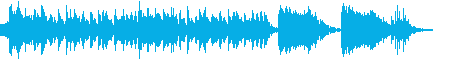 イベント、ゲームCMに最適!壮大な30秒の再生済みの波形