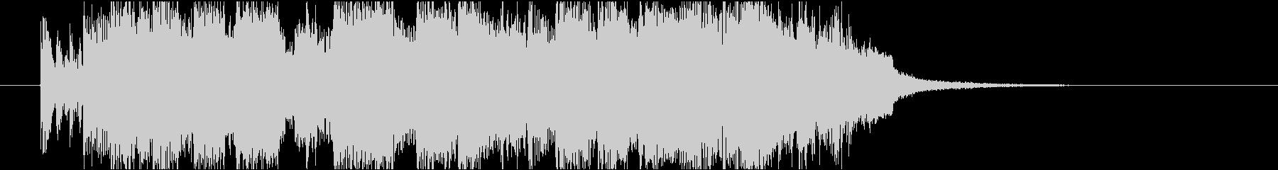 ジャズジングル、ピアノトリオ、クールの未再生の波形