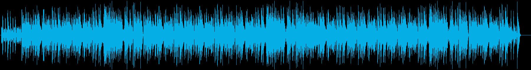 心弾む華やかなピアノ曲|OP・ED・映像の再生済みの波形