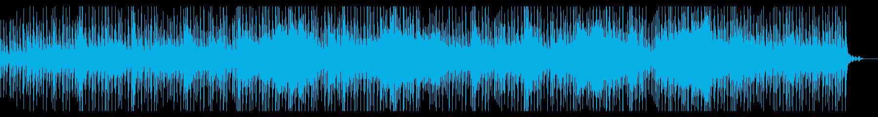 穏やかなミニマルアンビエントの再生済みの波形