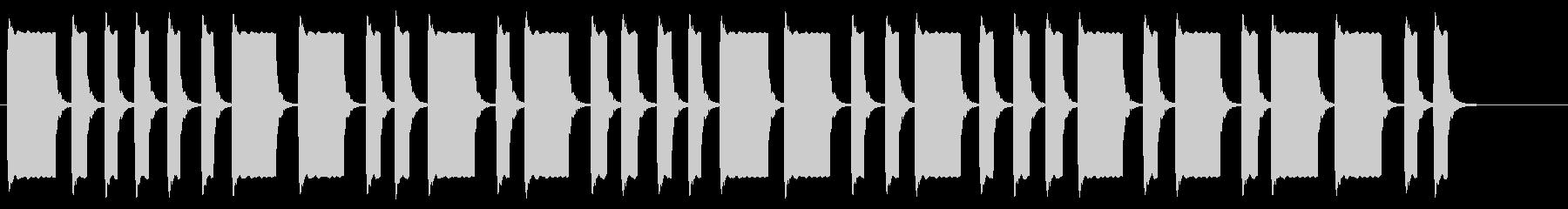 モールス信号 ぴ ぴー ピー ピ ピ…の未再生の波形