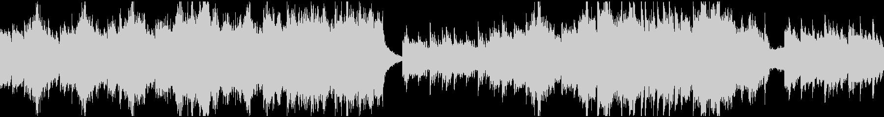 ダーク&クラシカル・ループの未再生の波形
