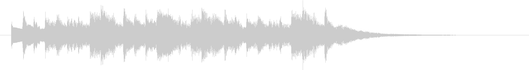 多用途効果音-06の未再生の波形