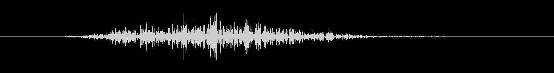 ガオー(獣 怪獣 モンスター 鳴き声)の未再生の波形