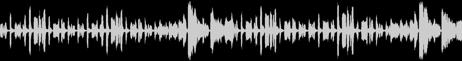 リコーダーのちょっぴり切ない曲_ループの未再生の波形