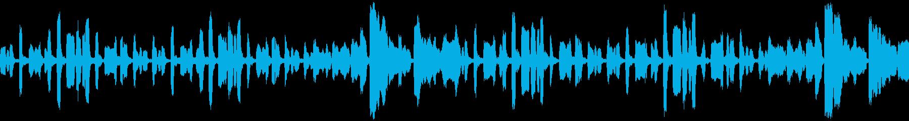 リコーダーのちょっぴり切ない曲_ループの再生済みの波形