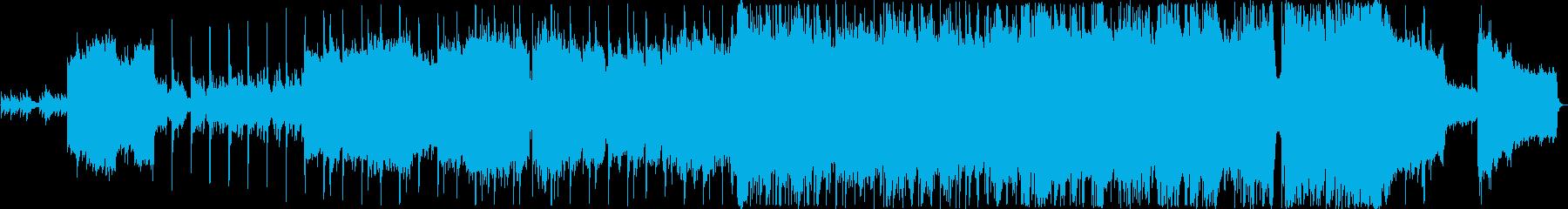 ファンタジーな雰囲気のバラードの再生済みの波形
