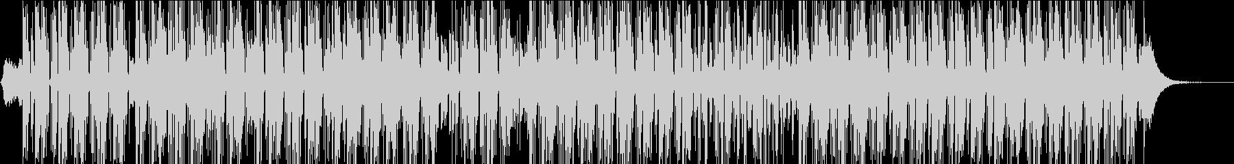 電気楽器。風変わりな、奇抜なグルー...の未再生の波形