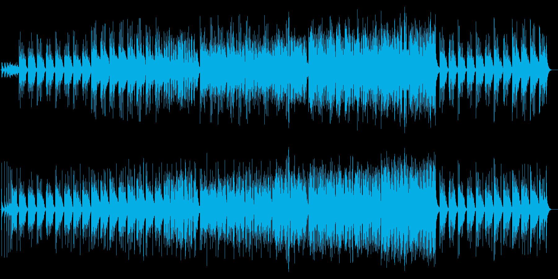 華麗で優雅な和風三味線サウンドの再生済みの波形