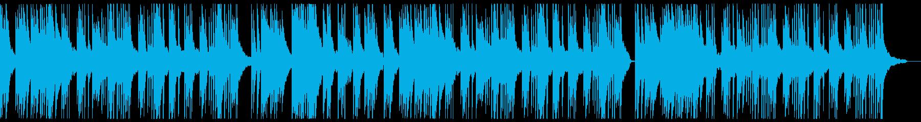 しっとりとしたピアノバラードの再生済みの波形