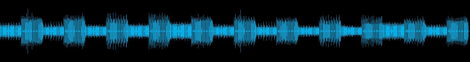 8bit ゲーム内音楽 チップチューン2の再生済みの波形