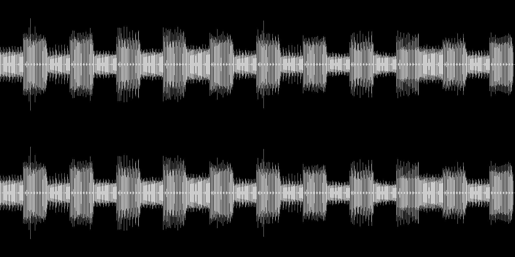 8bit ゲーム内音楽 チップチューン2の未再生の波形