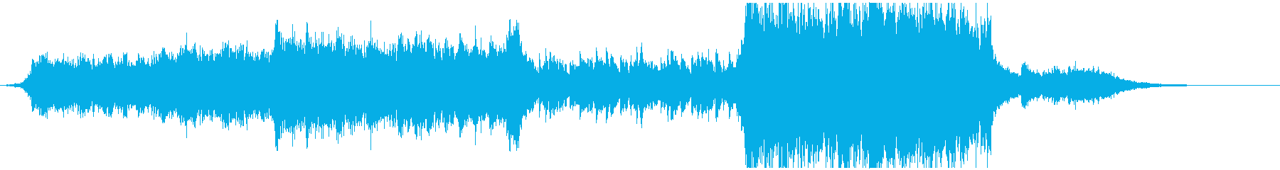 緊張から感動へ 壮大なEpic音楽 劇伴の再生済みの波形