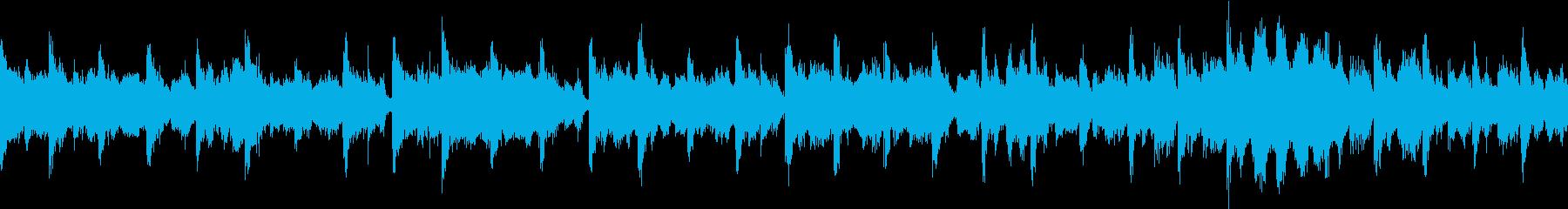 幻想的なループの再生済みの波形