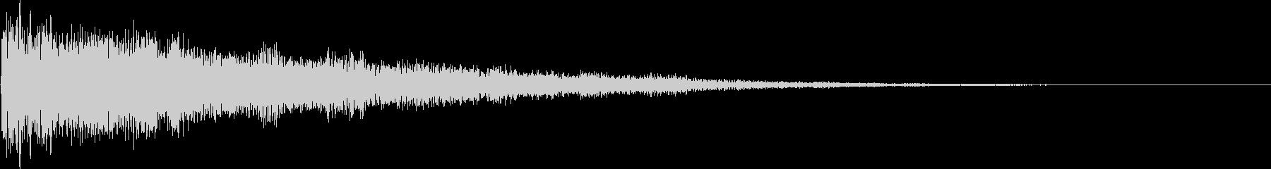 ピコーン(決定、移動、レベルアップ)の未再生の波形