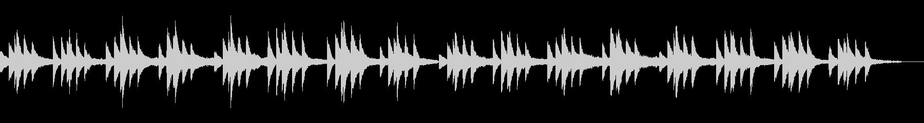 ショパンの名曲プレリュード原曲ピアノソロの未再生の波形