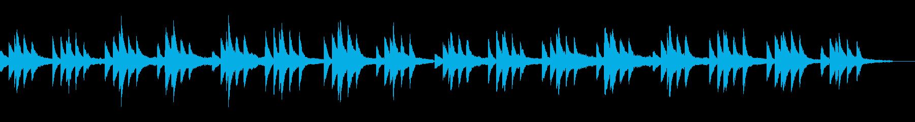 ショパンの名曲プレリュード原曲ピアノソロの再生済みの波形