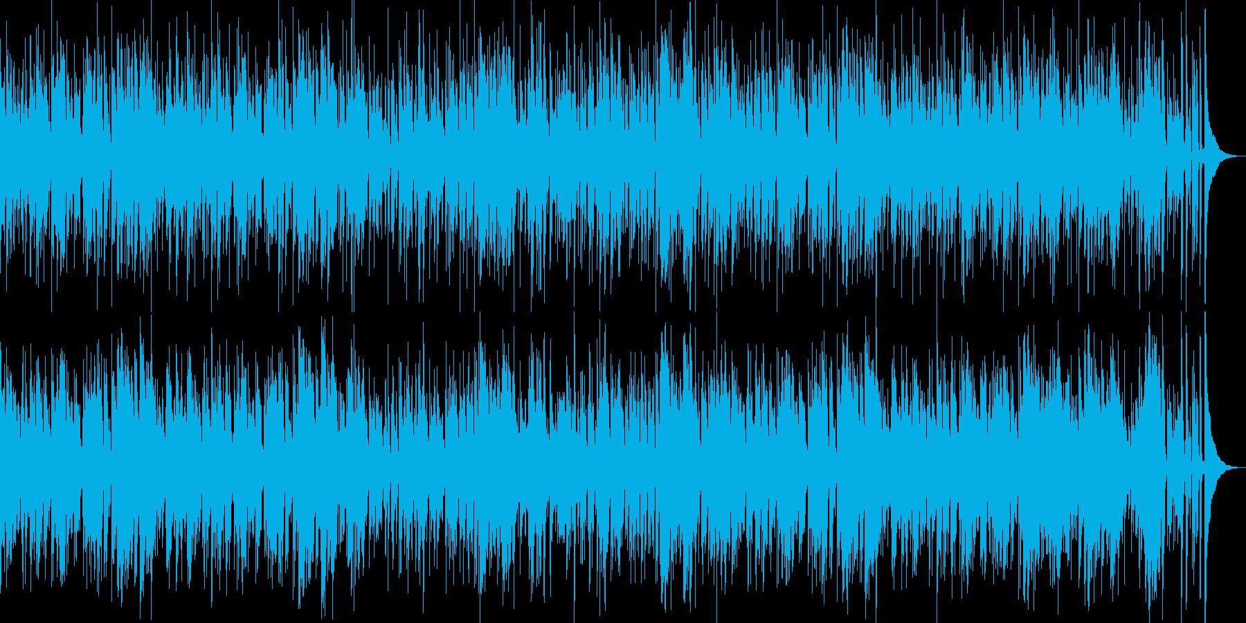 お洒落なジャズピアノトリオ16 ブルースの再生済みの波形