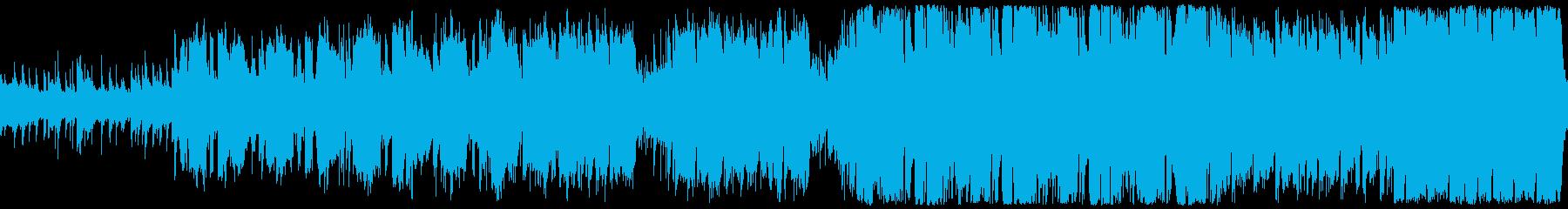 ほのぼのケルトBGMの再生済みの波形
