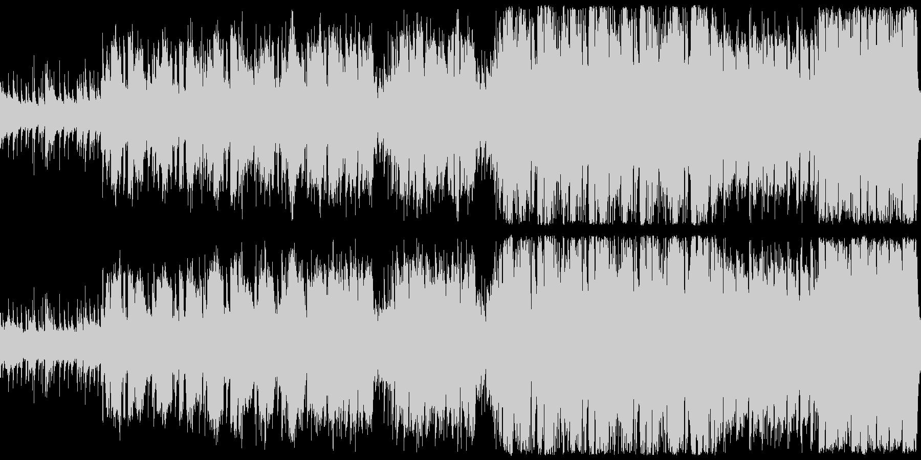 ほのぼのケルトBGMの未再生の波形