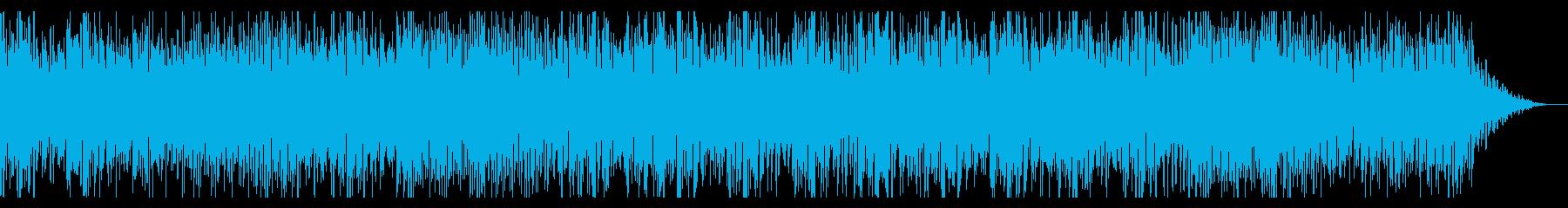 生録ギターカフェ系ボッサ楽曲の再生済みの波形