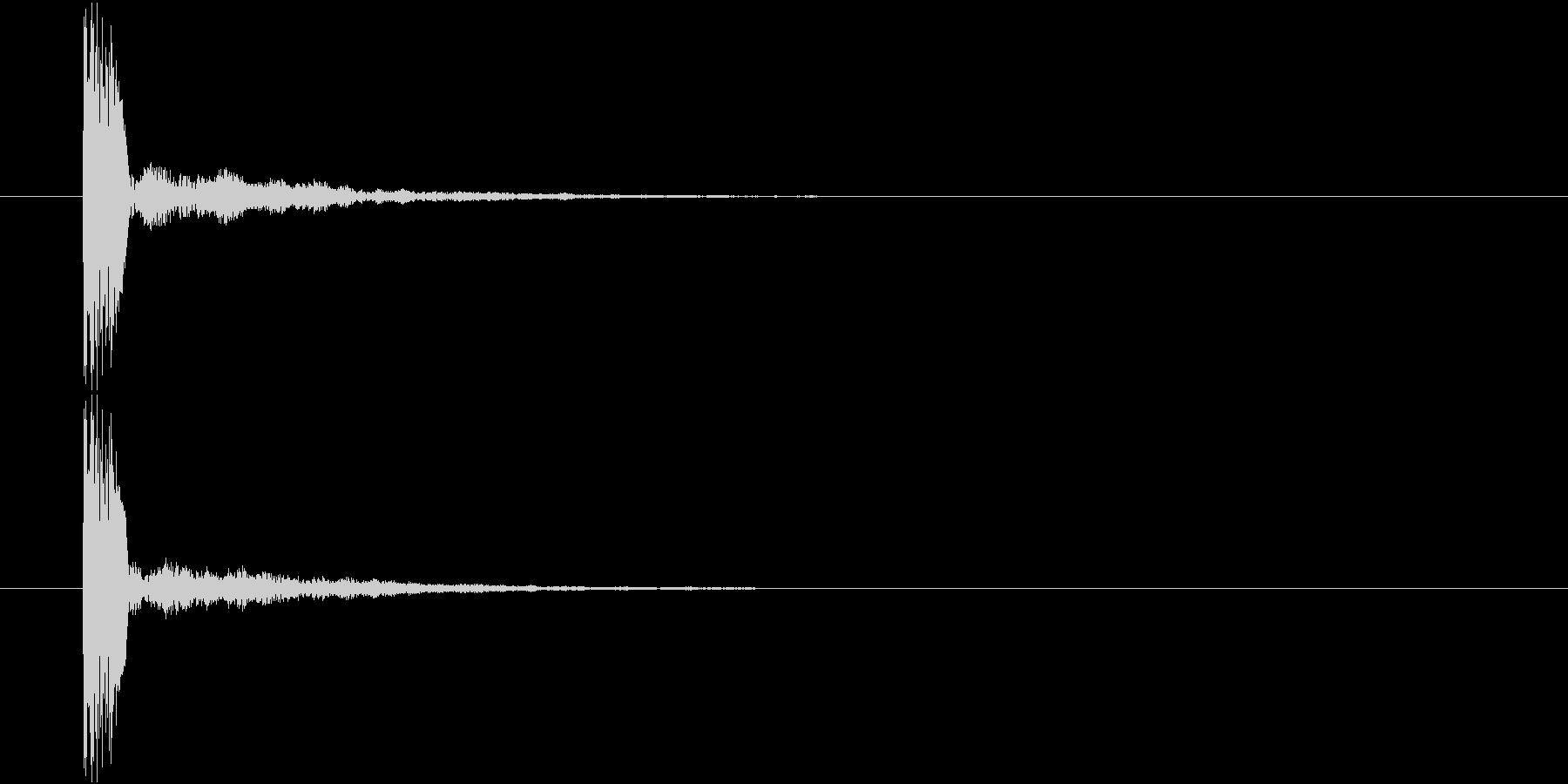ピコリン③(決定・クリア・レベルアップ)の未再生の波形